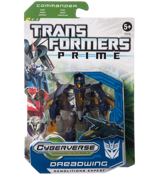 Hasbro Transformers Cyberverse Commander Dreadwing 37994