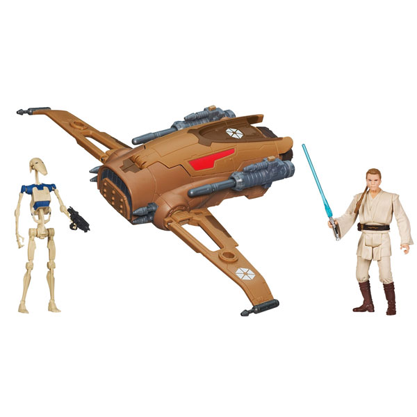 Star Wars figure Droid Fighter A0918