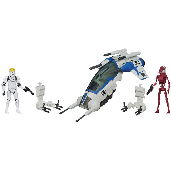 Star Wars figure Attack Dropship A0918