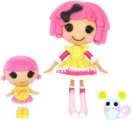 Mini Lalaloopsy Lutke Sestre Crumbs Sugar Cookie i Sprinkle Spice Cookie 520481/2