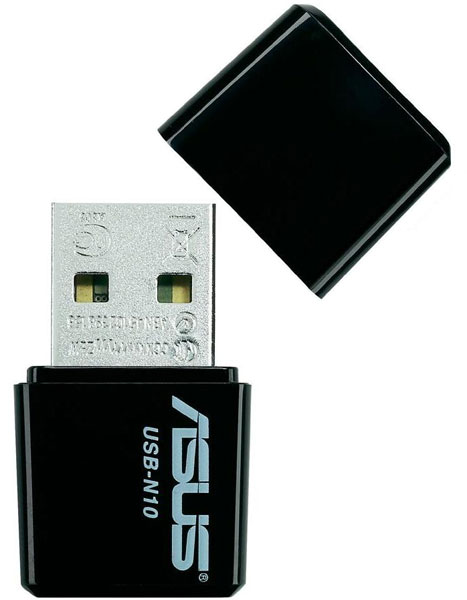Bežični mrežni adapter Asus Wireless USB-N10 0431050