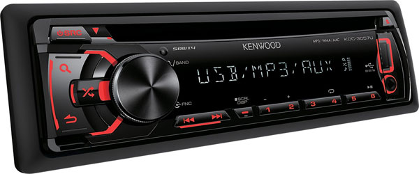 Kenwood Auto radio CD/MP3 Player KDC-3057URY