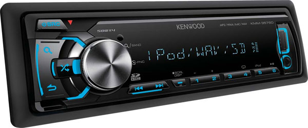 Kenwood Auto radio USB SD Player KMM-357SD
