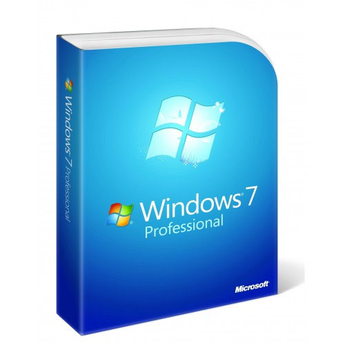 Microsoft Windows 7 Pro 64-bit Eng 1pk SP1 OEM DVD LCP FQC-08289