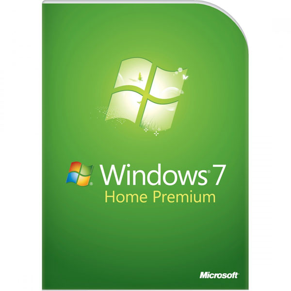Microsoft Windows 7 Home Premium 64-bit Eng 1pk SP1 OEM DVD LCP GFC-02733