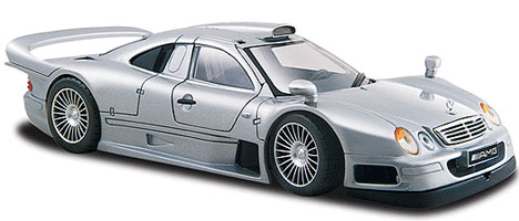 Mercedes-Benz CLK-GTR Street Version Silver 19096/31949