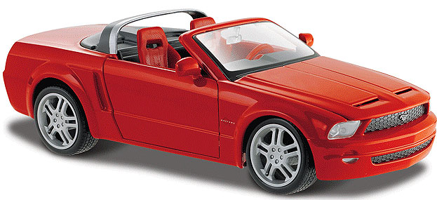 Ford Mustang GT Concept Convertible Red 19096/31970