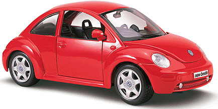 Volkswagen New Beetle Metallic Red 19096/31975