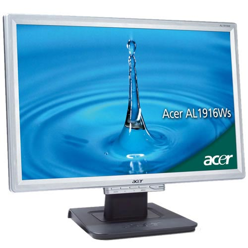Acer AL1916Was - 19 in TFT monitor - Wide