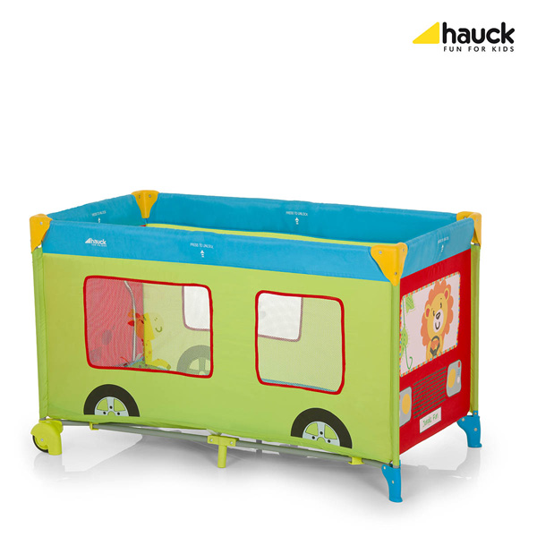 Hauck Prenosivi Krevetac Dream N Play Go Plus Jungle Fun 5170124