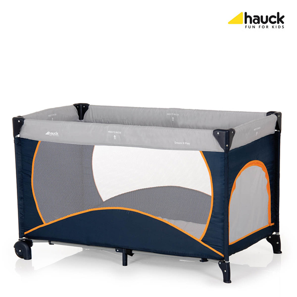 Hauck Prenosivi Krevetac Dream N Play Go Plus Air 5170122