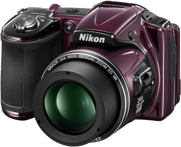 Nikon Digitalni Fotoaparat CoolPix L830 Purple