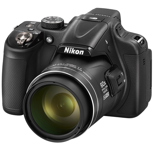 Nikon Digitalni Fotoaparat CoolPix P600 WiFi Black