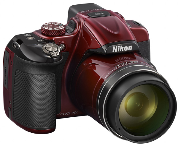 Nikon Digitalni Fotoaparat CoolPix P600 WiFi Red