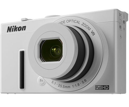 Nikon Digitalni Fotoaparat CoolPix P340 WiFi White