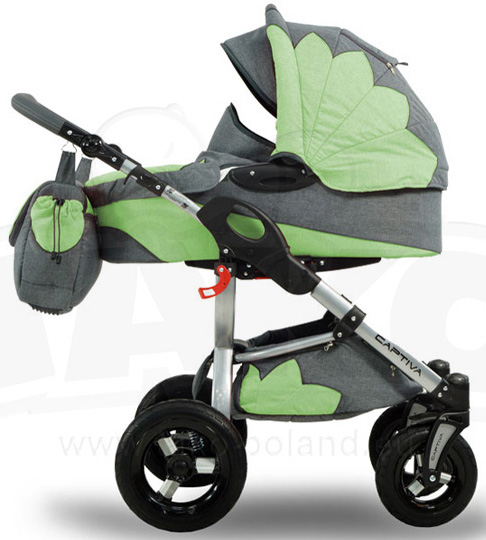 Tako Kolica za bebe Captiva 3u1 Set Multicolor 09
