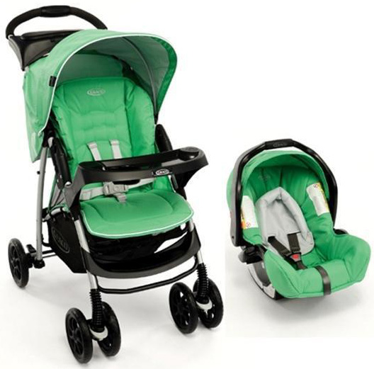 Graco Duo Kolica Mirage TS Green Fusion 5040138