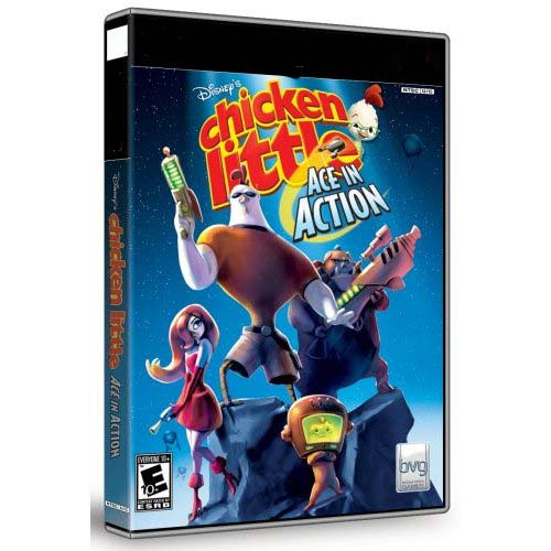 Chicken Little - Ace in Action - Walt Disney - PC video igra