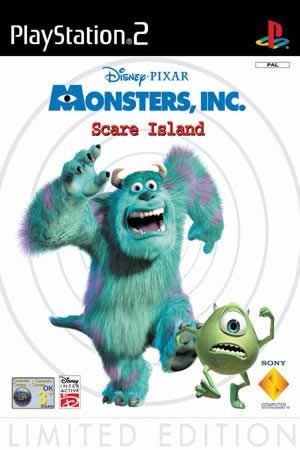 Monsters Inc - Scare island - PS2