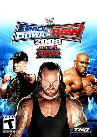 WWE Smackdown vs. Raw 2008 - PSP