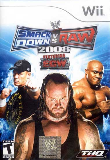 WWE Smackdown vs. Raw 2008 - Nintendo Wii