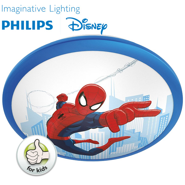 LED Luster plafonjera za dečiju sobu Philips Disney Spiderman 71760/40/16