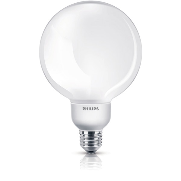 Štedljiva sijalica Philips CFL-i Softone Globe Soft ES 16W WW G120 1CH/4 PS220