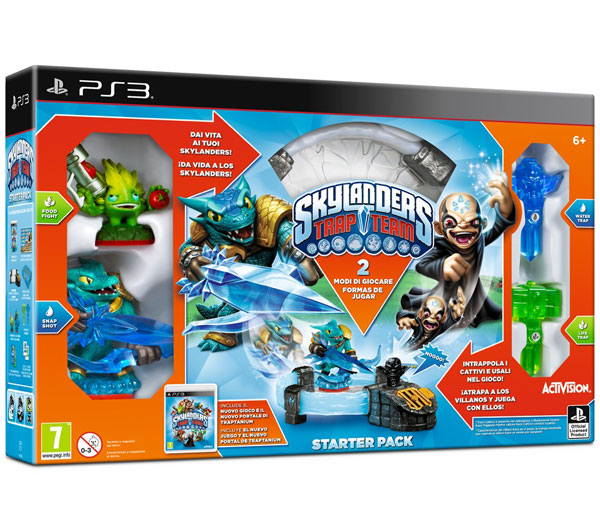 Skylanders Trap Team Starter Pack Sony PS3 87119EG