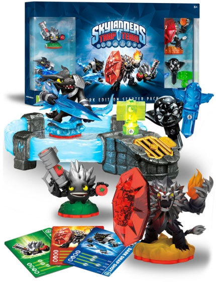 Skylanders Trap Team Starter Pack Sony PS4 Dark Edition 87025EG