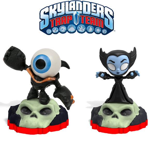 Skylanders Trap Team Minis Hijinx & Eyeball Small 87092EU dve figurice