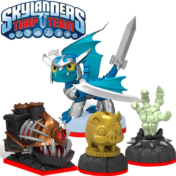Skylanders Trap Team Adventure Pack (Blades + Nightmare Express + Hand of Fate + Piggy Bank) 87221EU