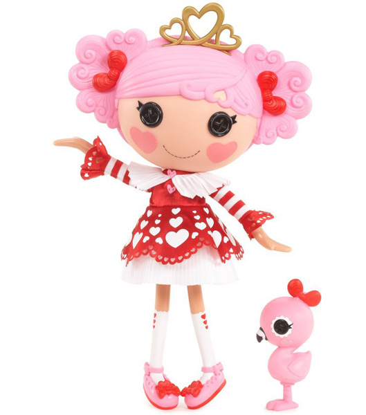 Lalaloopsy Lutka Queenie Red Heart 529675