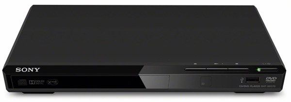 DVD Player Sony DVPSR370B DivX MP3 USB UltraSlim