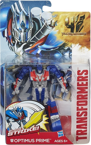 Hasbro Transformers Figura Movie 4 Deluxe Attackers A6147 Optimus Prime