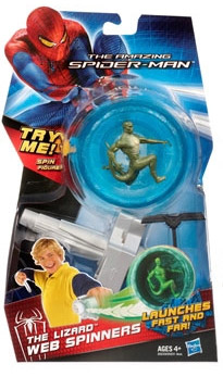 Hasbro Spiderman Power Webs Spinners figura Lizard 25231