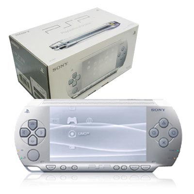 Sony Play Station Portable - PSP - Base Pack 3004 SILVER
