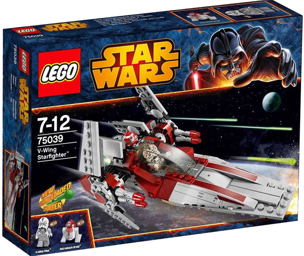 LEGO Star Wars V-wing Starfighter LE75039