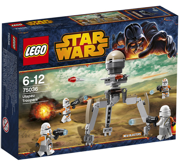 LEGO Star Wars Utapau Troopers LE75036