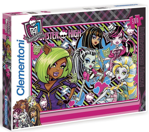 Puzzle slagalica Monster High 30120 21802