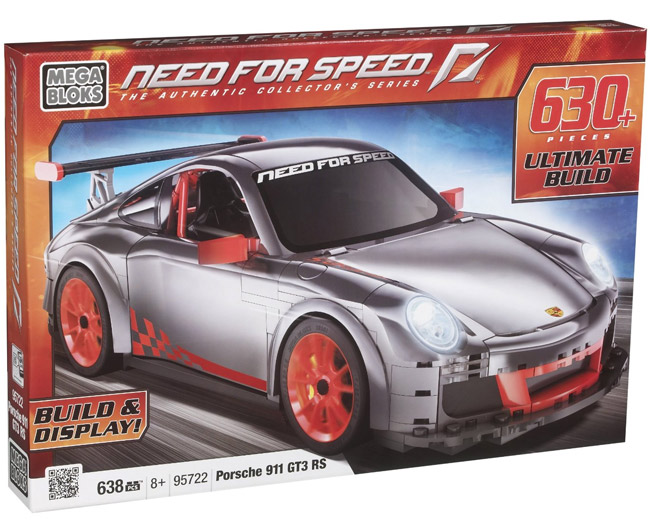 Mega Bloks kocke Need For Speed Porsche MB95722