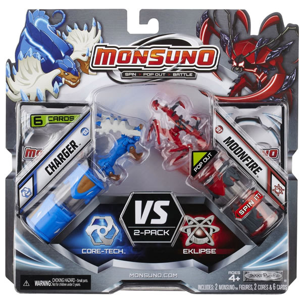 Monsuno Figure set Charger i Moonfire Jakks Pacific JP24971