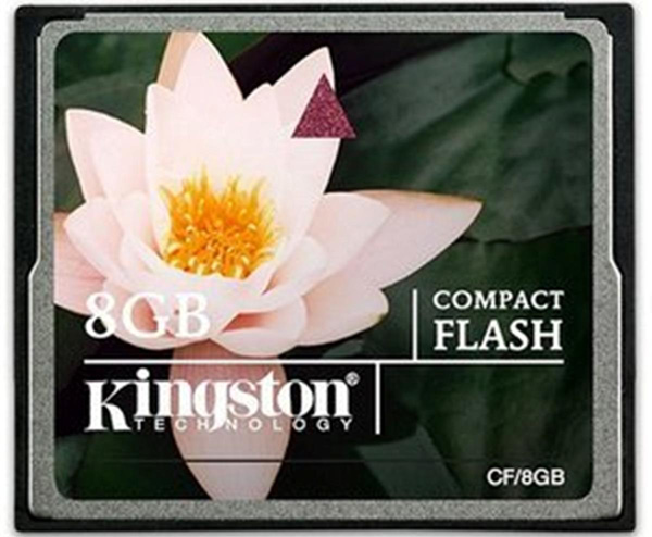 Memorijska kartica Kingston Compact Flash 8GB CF/8GB