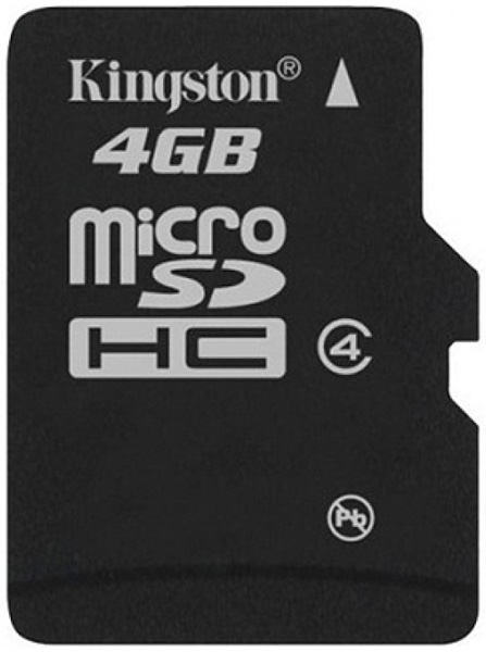 Micro SDHC memorijska kartica 4 GB Kingston SDC4/4GBSP