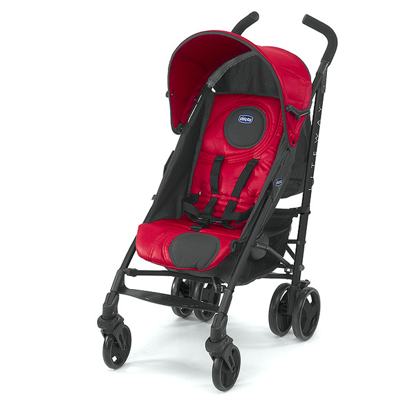 Chicco Kolica Lite Way Basic Red Wave 07060886930000