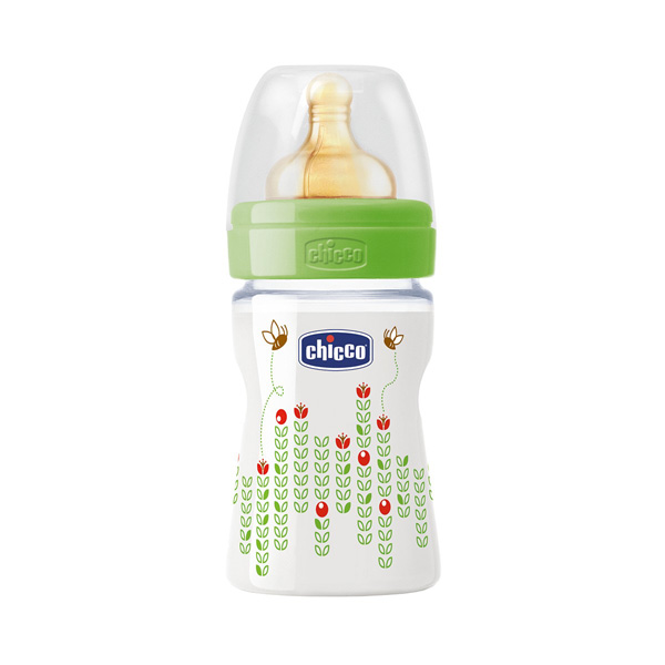 Chicco Flašica Well-Being sa kaučuk cuclom 150ml 0m+ 00070750000000