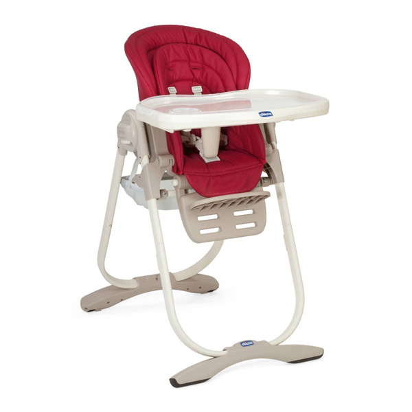 Chicco Visoka bebi stolica Polly Magic Scarlet 07079090300000