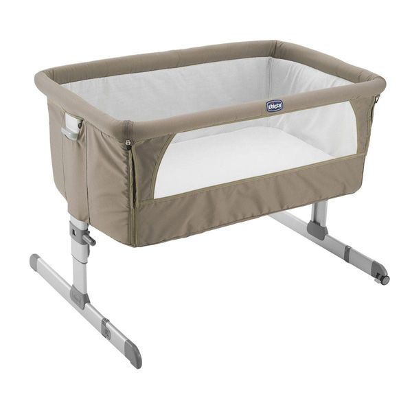 Chicco Prenosivi krevetac Next2Me Dove Grey 07079339720000