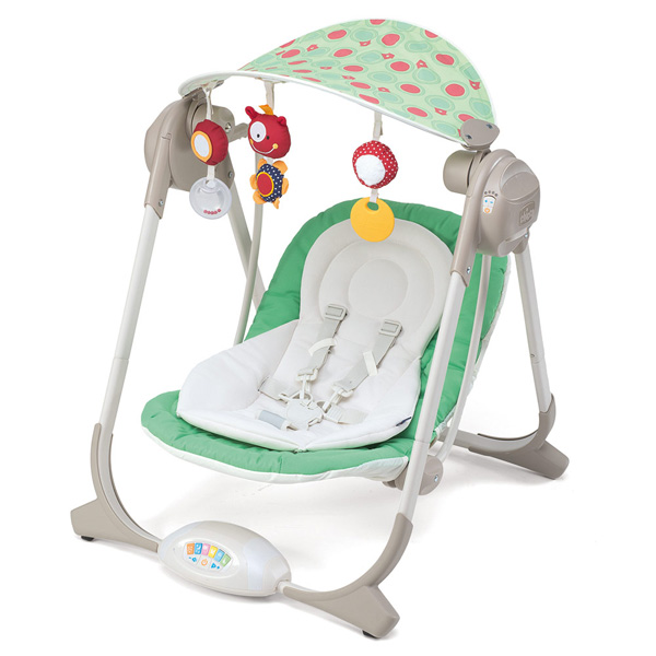 Chicco Ljuljaška za bebe Polly Swing Greenland 06067691030000