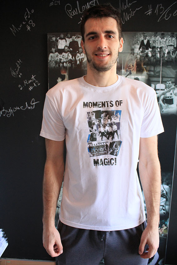 KK Partizan Moments of Magic majica L