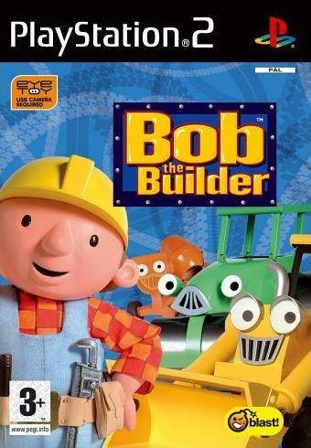 Igrica za Sony Playstation 2 PS2 EyeToy: Bob the Builder